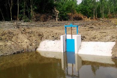 Matolai belvízelvezető csatorna rekonstrukciója