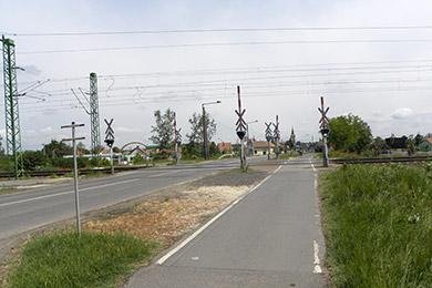 Gyoma, vasúti aluljáró földmunka